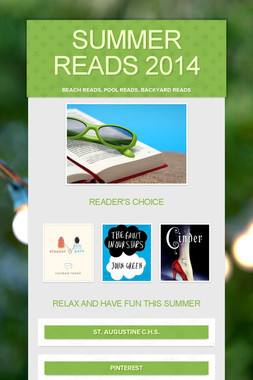 Summer Reads 2014