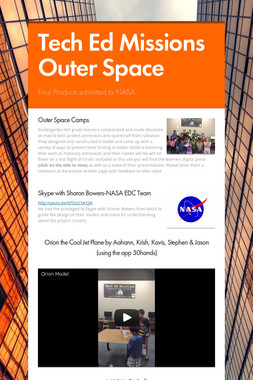 Tech Ed Missions Outer Space