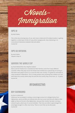Novels- Immigration
