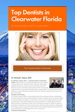 Top Dentists in Clearwater Florida