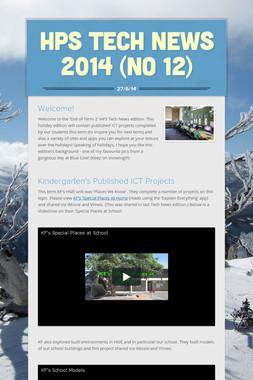 HPS Tech News 2014 (No 12)