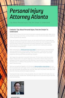 Personal Injury Attorney Atlanta