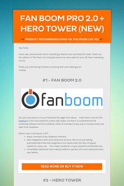 Fan Boom Pro 2.0 + Hero Tower (New)
