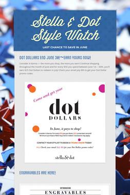Stella & Dot Style Watch
