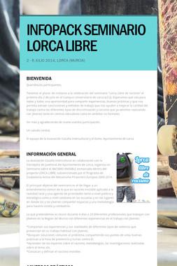 INFOPACK SEMINARIO LORCA LIBRE
