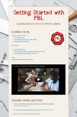 Getting Started with PBL