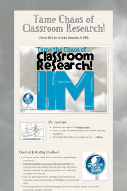 Tame Chaos of Classroom Research!
