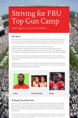 Striving for FBU Top Gun Camp