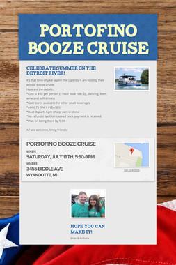 Portofino Booze Cruise