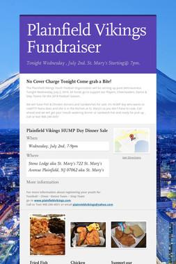Plainfield Vikings Fundraiser