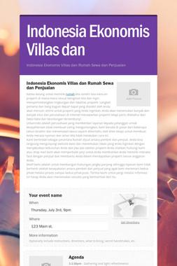 Indonesia Ekonomis Villas dan
