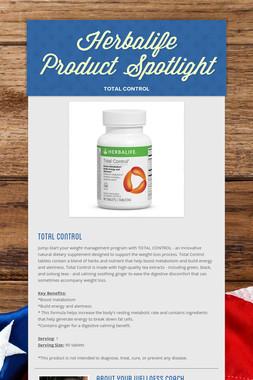 Herbalife Product Spotlight