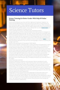 Science Tutors
