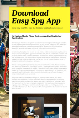 Download Easy Spy App
