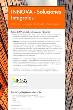INNOVA - Soluciones Integrales