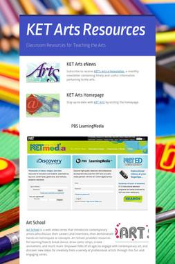 KET Arts Resources