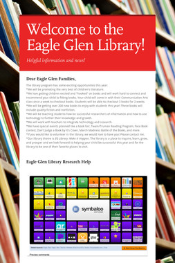 Welcome to the Eagle Glen Library!