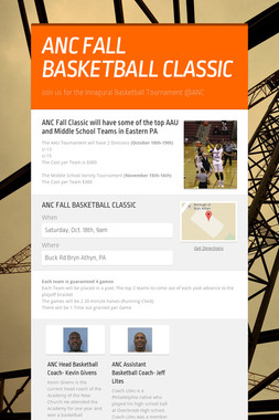 ANC FALL BASKETBALL CLASSIC