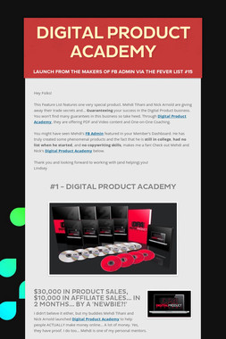 Digital Product Academy