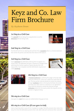 Keyz and Co.     Law Firm Brochure