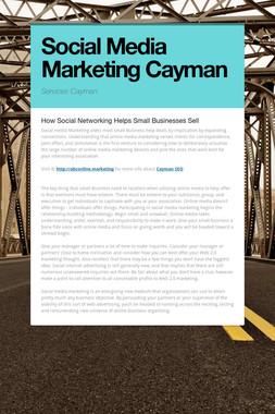 Social Media Marketing Cayman