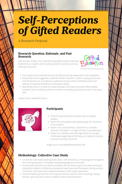 Self-Perceptions of Gifted Readers