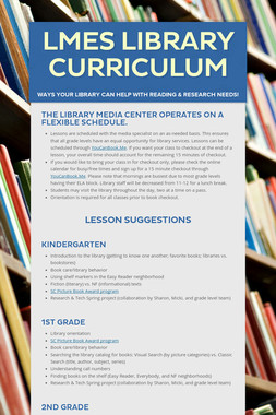 LMES Library Curriculum