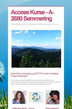 Access Kurse - A-2680 Semmering