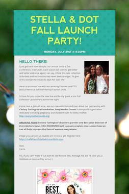 Stella & Dot Fall Launch Party!