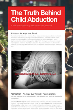 The Truth Behind Child Abduction