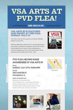 VSA arts at PVD flea!