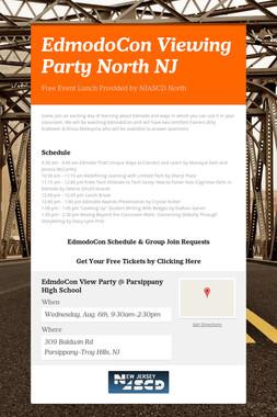 EdmodoCon Viewing Party North NJ