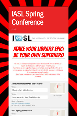 IASL Spring Conference