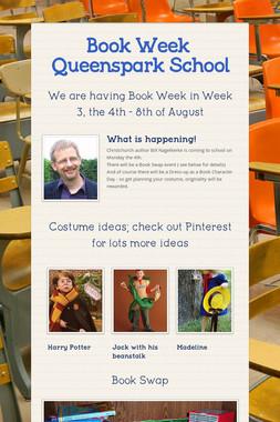 Book Week @ Queenspark School