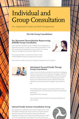 Individual and Group Consultation