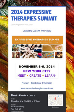 2014 EXPRESSIVE THERAPIES SUMMIT