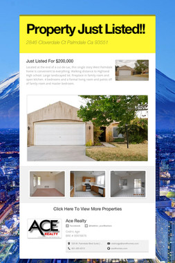 Property Just Listed!!