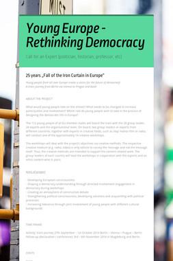 Young Europe - Rethinking Democracy
