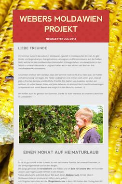 Webers Moldawien Projekt
