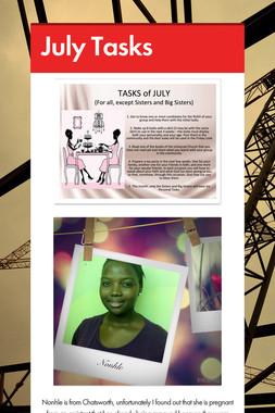 July Tasks