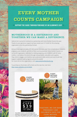 Every Mother Counts Campaign