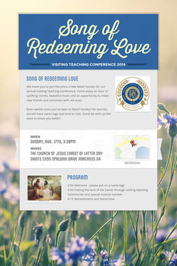 Song of Redeeming Love