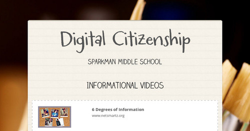 Digital Citizenship Smore Newsletters For Education