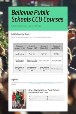 Bellevue Public Schools CCU Courses