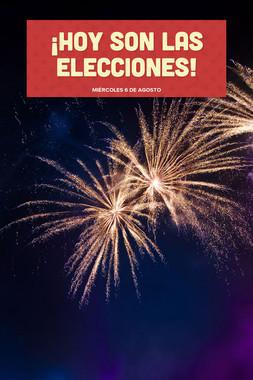 ¡Hoy son las elecciones!