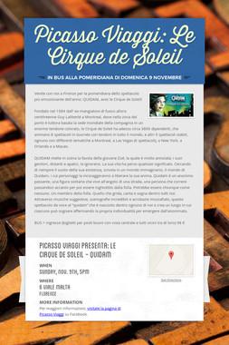 Picasso Viaggi: Le Cirque de Soleil