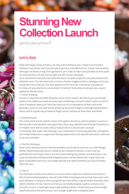 Stunning New Collection Launch