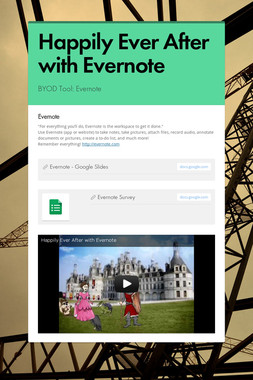Happily Ever After with Evernote