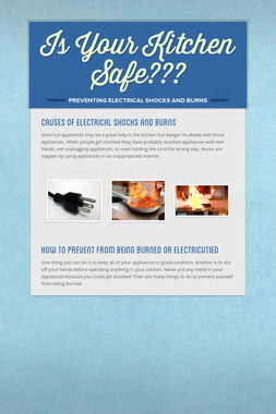 Is Your Kitchen Safe???