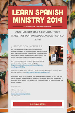 Learn Spanish Ministry 2014